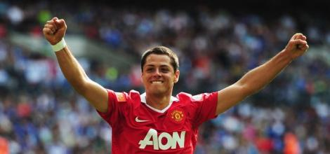 Hernandez looks at home in a United shirt