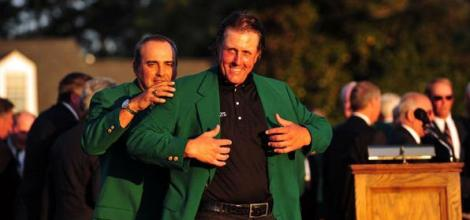 Defending Champ Mickelson The Favourite at Augusta