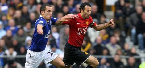 Giggs will be a key player during the clash