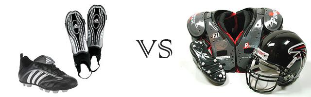 american football versus european football