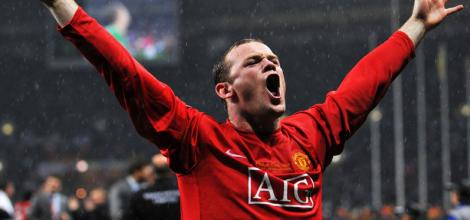 Rooney can celebrate in a less emphatic manner